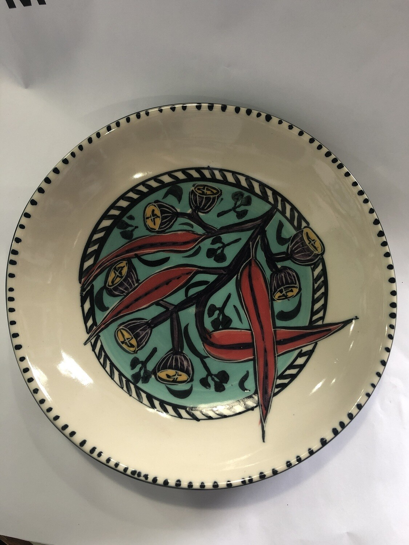 Mary-Lou Pittar Deep Plate 22cm x 4.5
