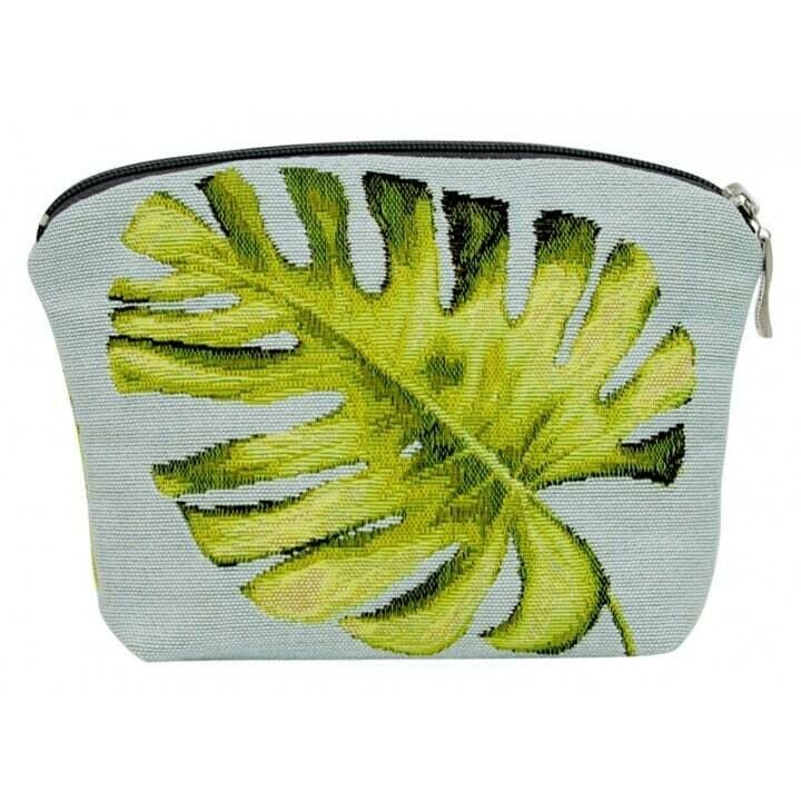 ANNABELLA - Handmade FRENCH TASTRY Cosmetic Bag – Leaf