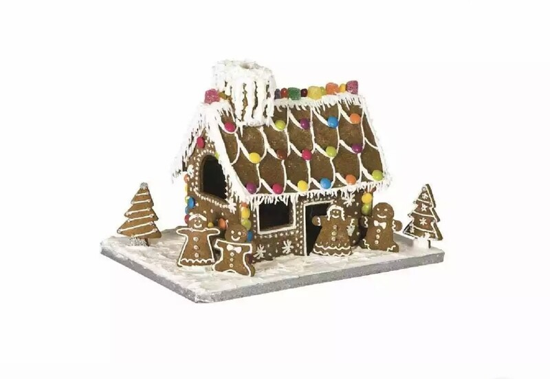 AVANTI - GINGERBREAD HOUSE 10 PIECE BAKING SET Biscuit Christmas