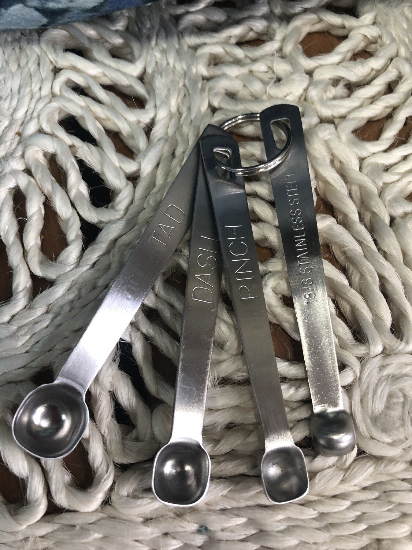 AVANTI- S/4 Stainless Steel Measuring Mini Spoon