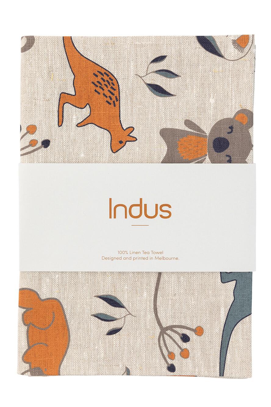 INDUS DESIGN - Outback Linen Tea Towel