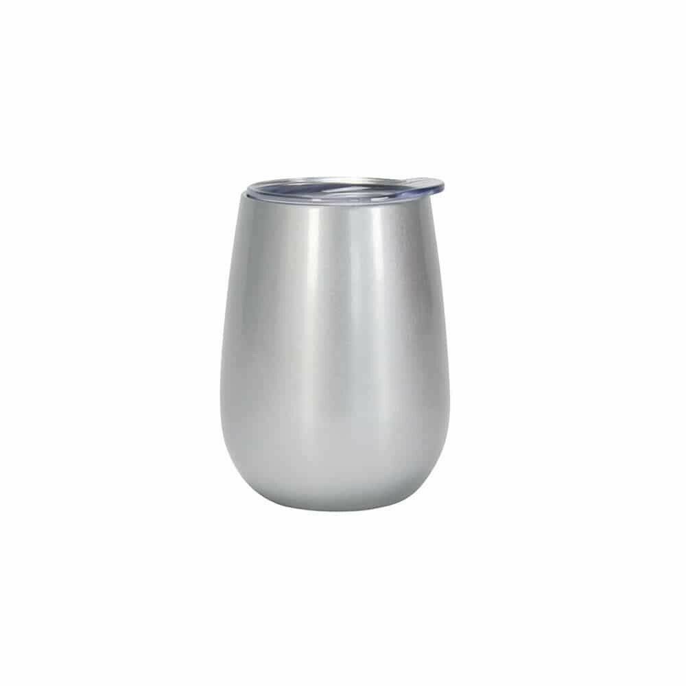 ANNABEL TRENDS - Stainless Steel Wine Tumbler Silver