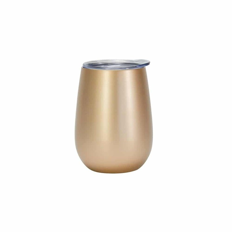 ANNABEL TRENDS - Stainless Steel Wine Tumbler Gold