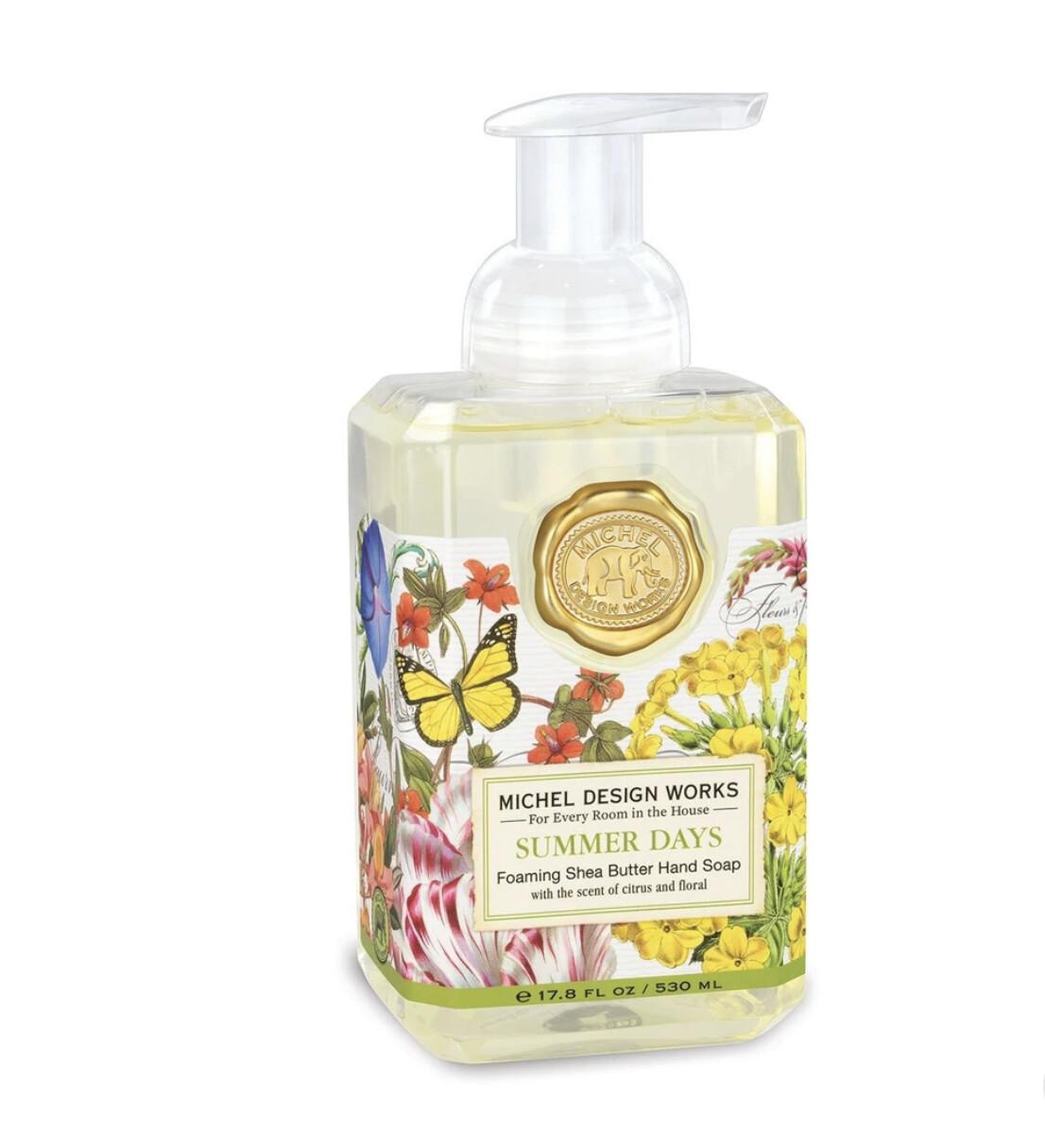 MICHEL DESIGN WORKS - Summer Days Foaming Soap