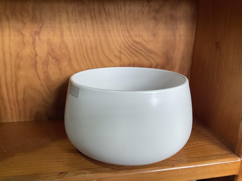 MINT HOME- Large Salad Bowl - White