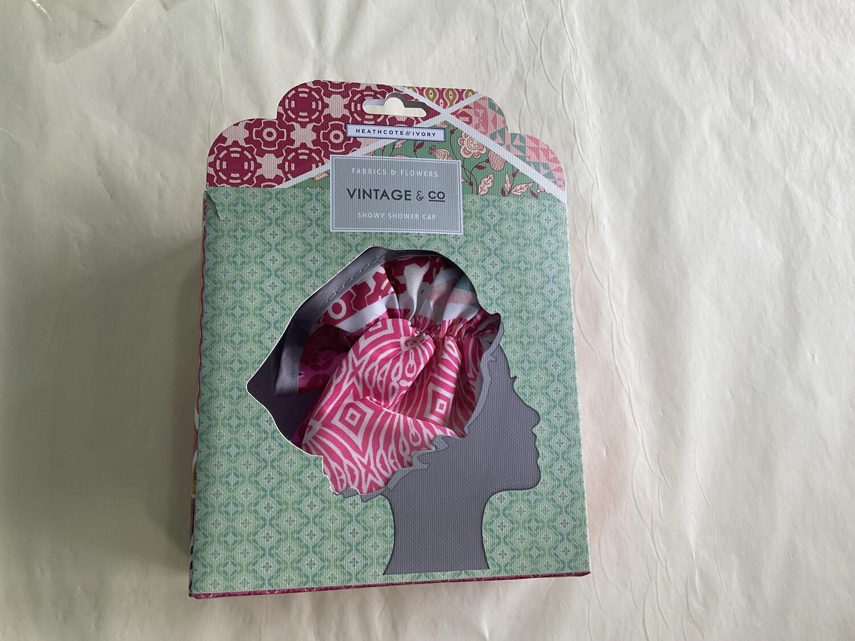HEATHCOTE&IVORY - Fabrics and Flowers Shower Cap