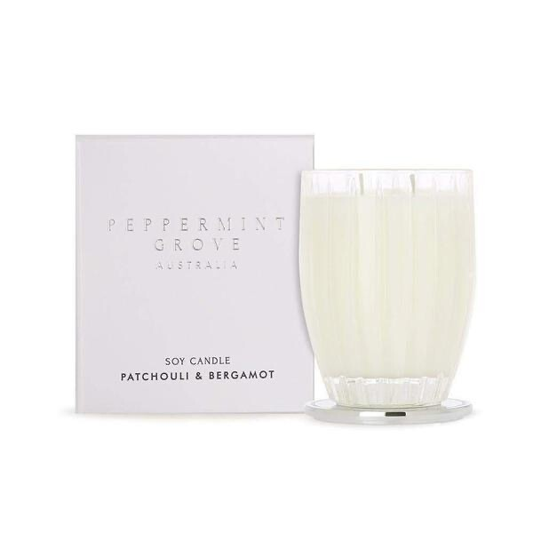 PEPPERMINT GROVE -Patchouli / Bergamot Candle 350ml