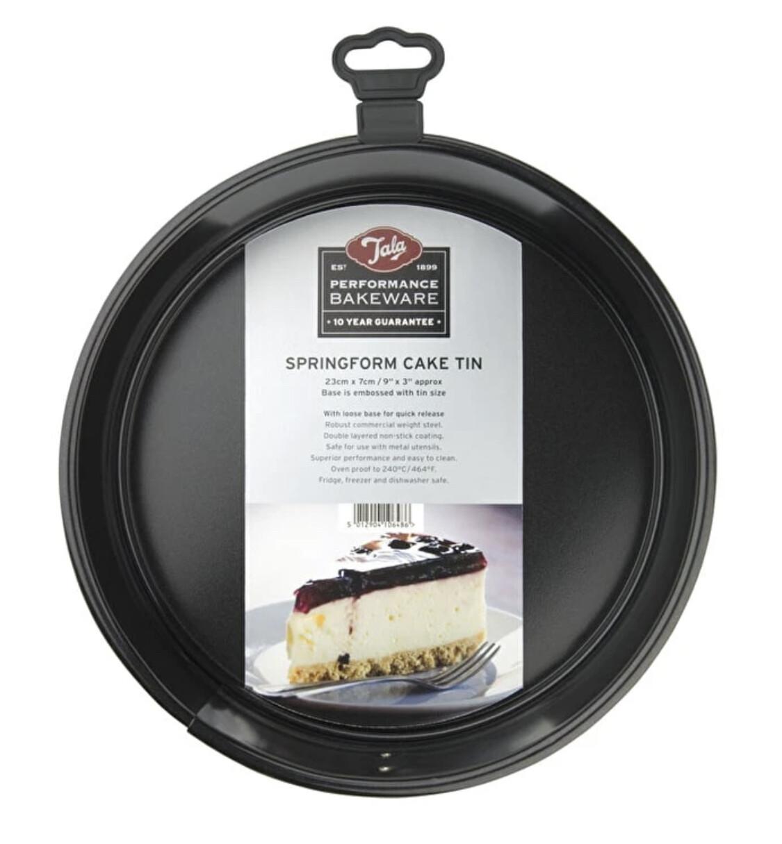 Tala - Performance Springform Cake Tin (23cm)