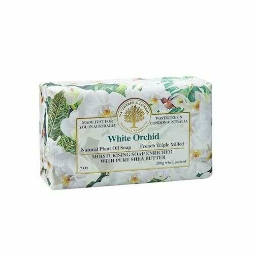 WAVERTREE&LONDON - White Orchid Soap Bar 200g/7oz