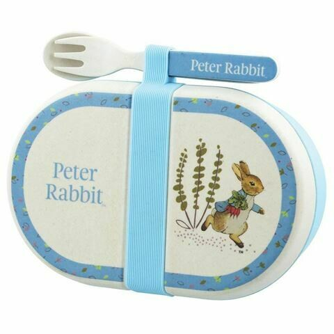 PETER RABBIT - Snack Box w/ Cutlery Set