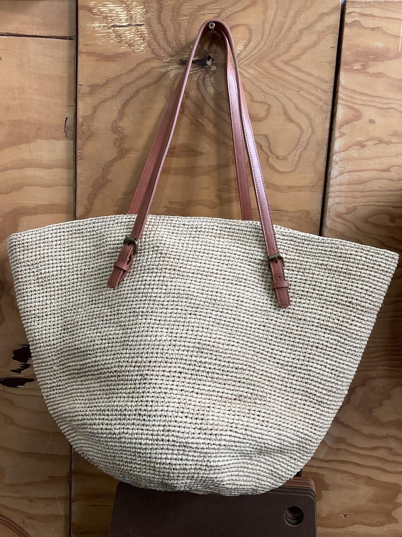 LE PANIER -  Victoria Bag-natural