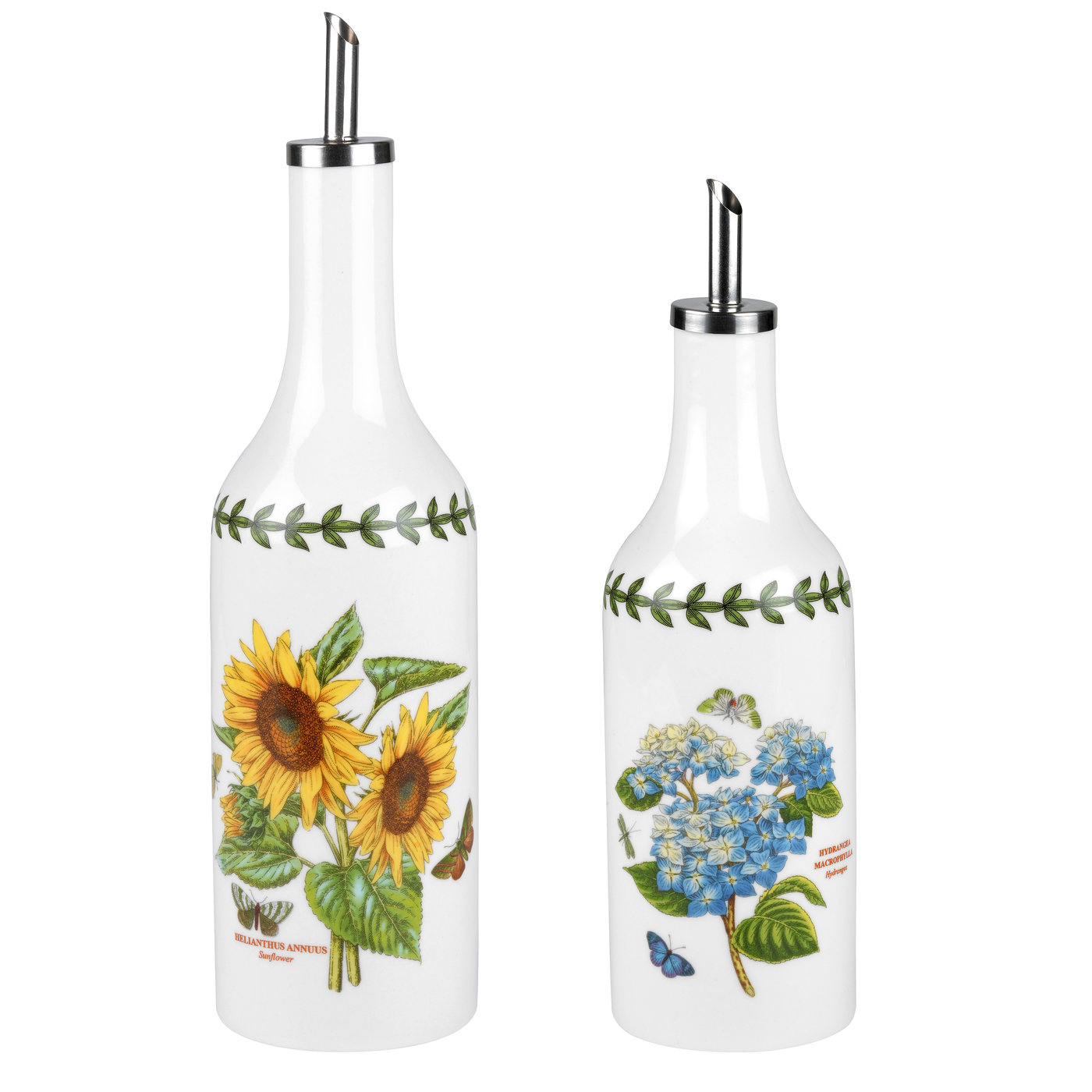 PORTMEIRION Botanic Garden Sunflower Oil and Vinegar Set