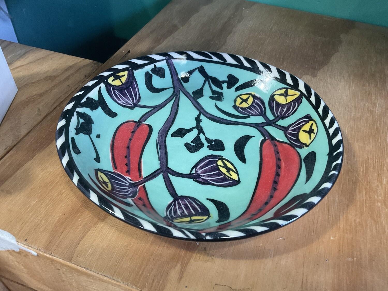 Mary-Lou Pittar  Dinner Plate 17 x 2cm