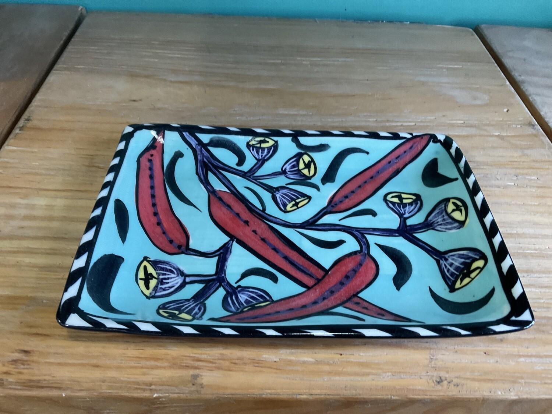 Mary-Lou Pittard - Rectangle Small Tray 20.5 x 14 x 1.5cm