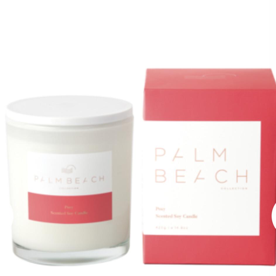 PALM BEACH - Posy  420g Standard Candle