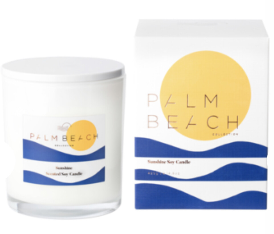 PALM BEACH - Sunshine  420g Limited Edition Standard Candle