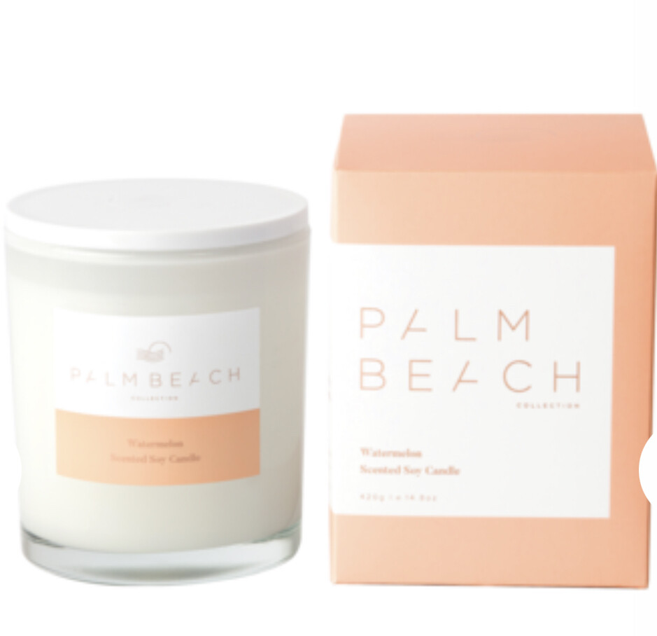 PALM BEACH - Watermelon  420g Standard Candle