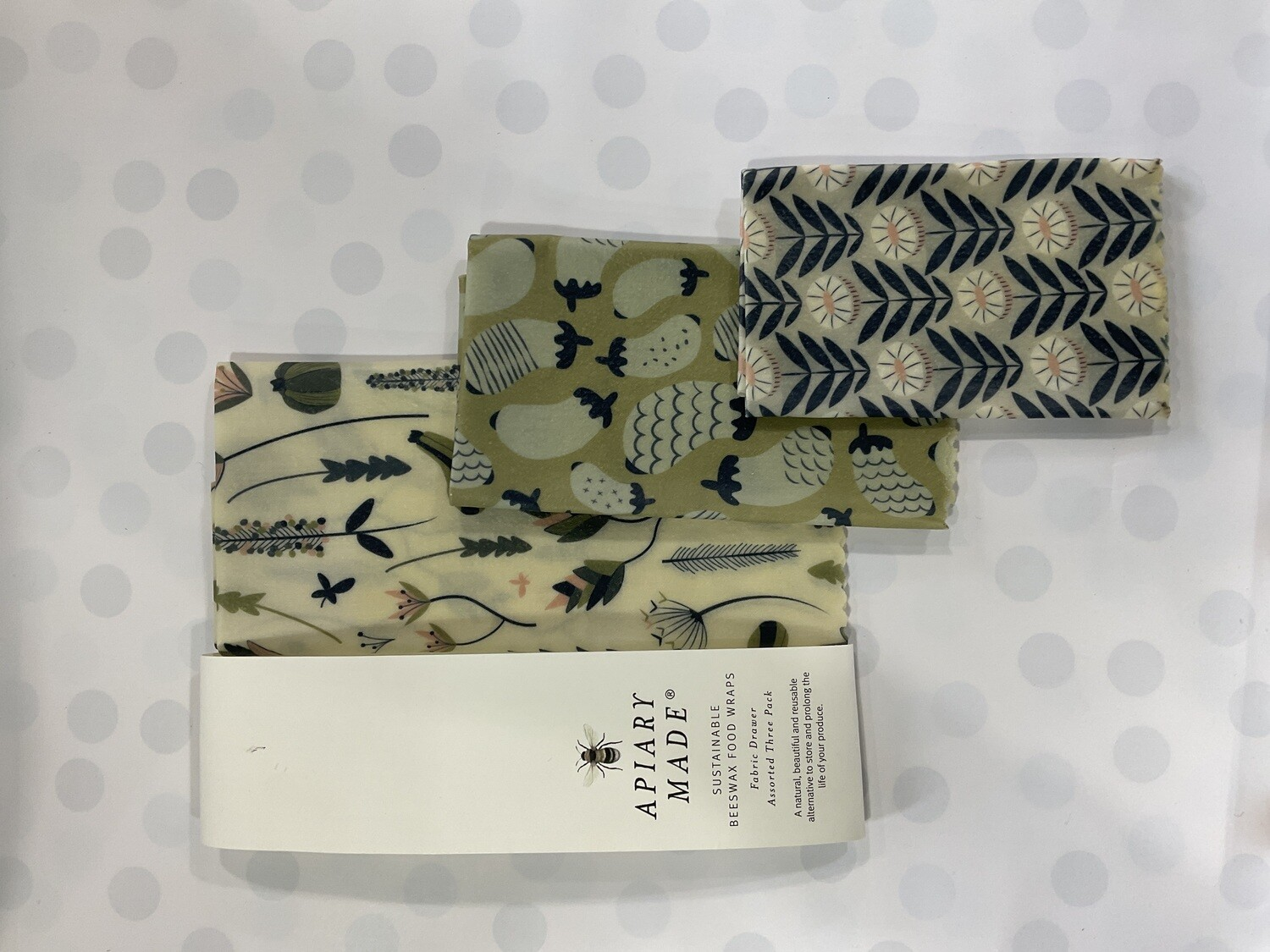 APIARY MADE - Sustainable BEESWAX FOOD WRAPS