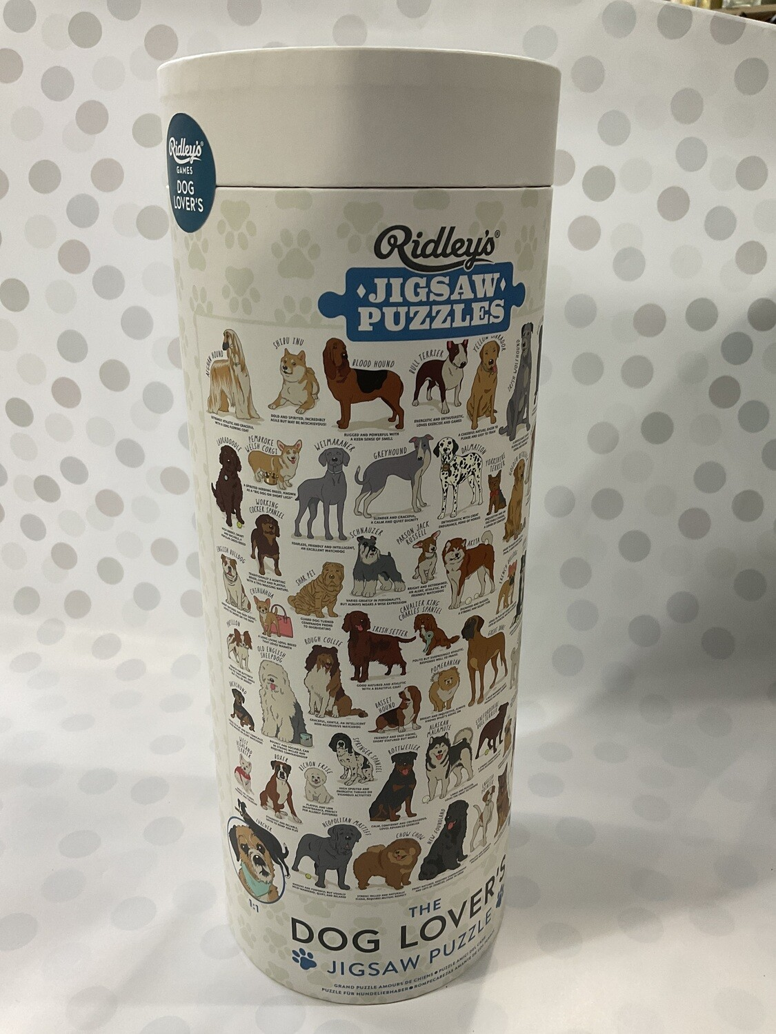 Ridley's Jigsaw Puzzles - Dog Lover's