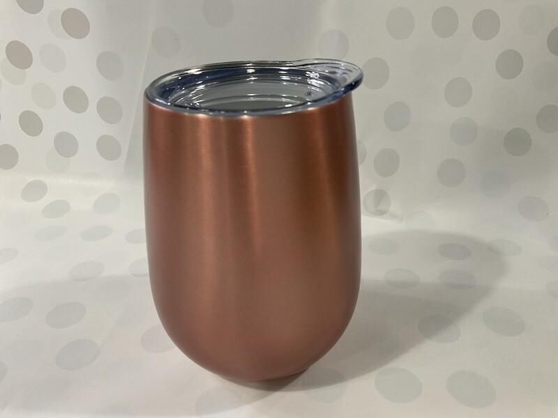 ANNABEL TRENDS - Stainless Steel Wine Tumbler Rose Gold