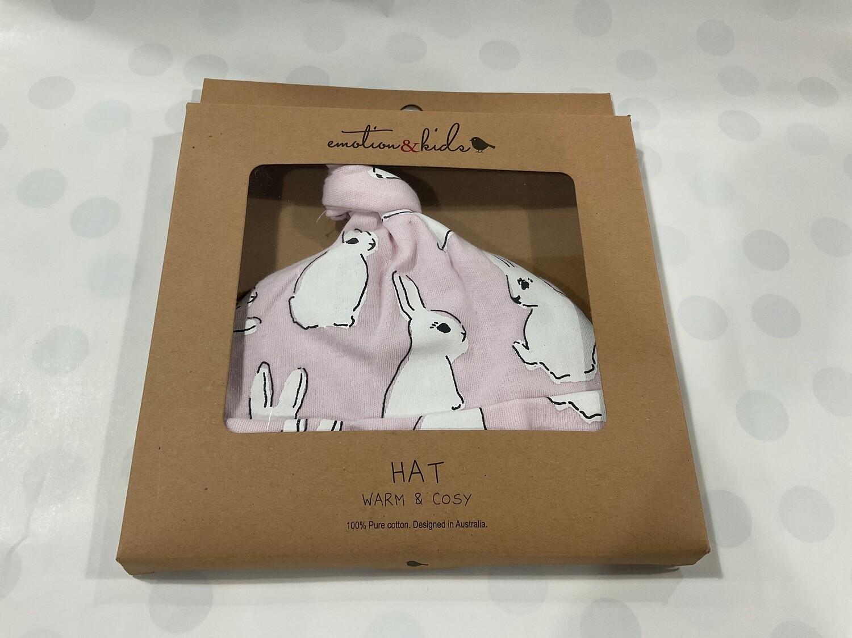 "EMOTION&KIDS-'Pink Bunny"" Warm & Cosy Hat"