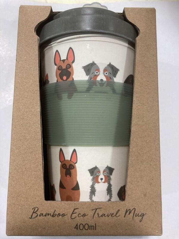 URBAN PRODUCTS-Bamboo Eco Dog  travel mug