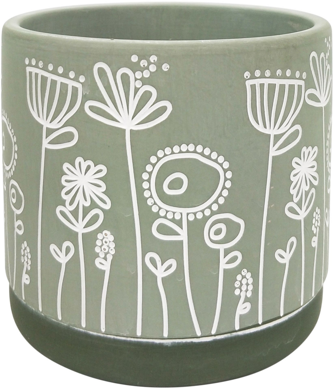 URBAN PRODUCTS - Bree Planter Green Small 11cm