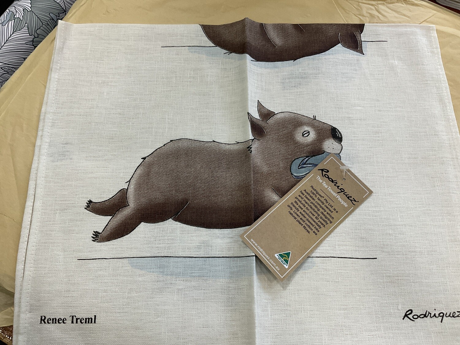 RODRIGUEZ - Red Tractor Designs- Wombat by Renee Treml