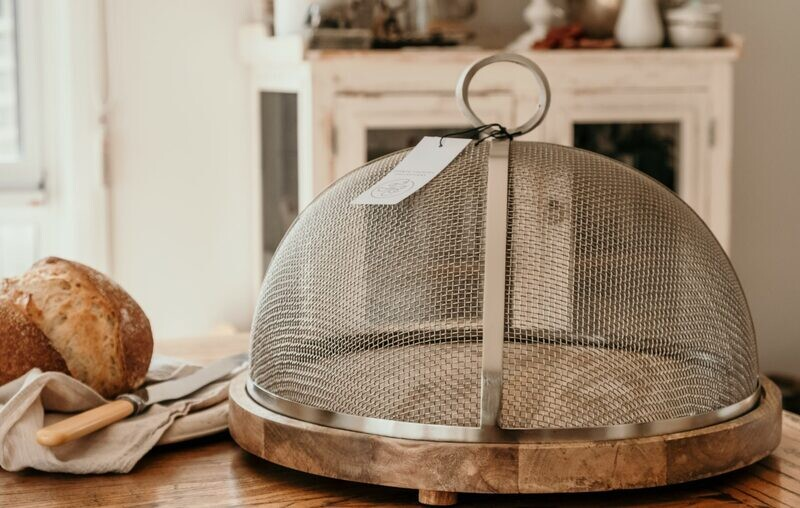 French Country Collections 44cm Mesh Cake Dome