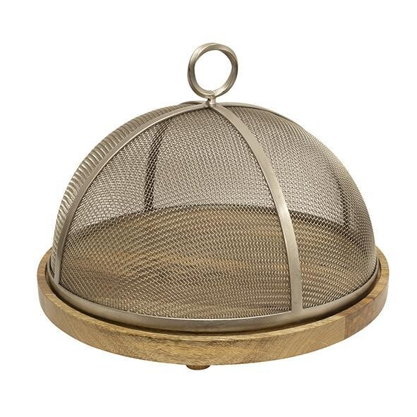 French Country Collections 34cm Mesh Cake Dome
