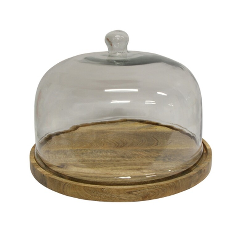 FRENCH COUNTRY COLLECTIONS - Decorative Glass Cake Dome