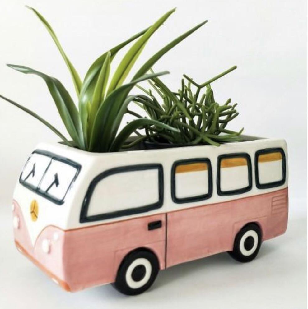 Urban Products - Retro Kombi Planter Pink