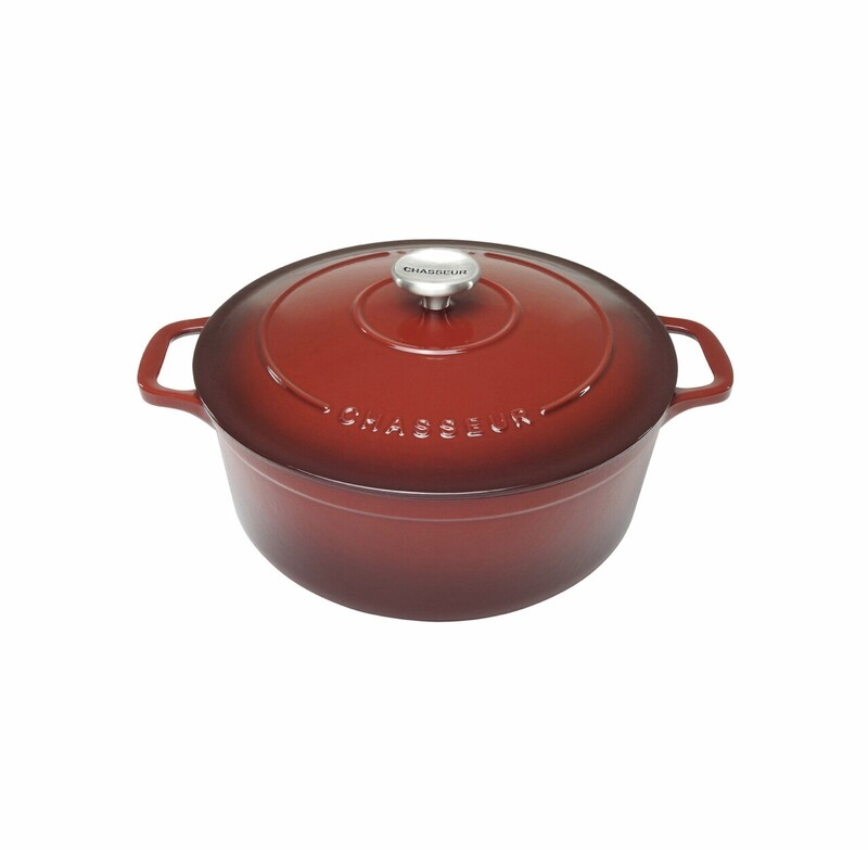 Chasseur Round French Oven Bordeaux 24/26cm