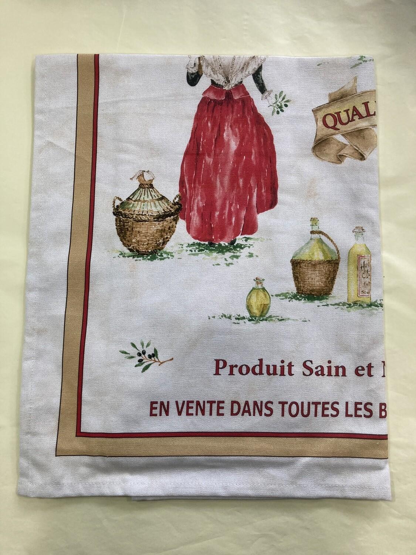 LE PANIER - Huile d'Olive Tea Towel