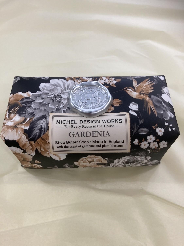 MICHEL DESIGN WORKS - Gardenia   Large Bath Soap Bar 246g
