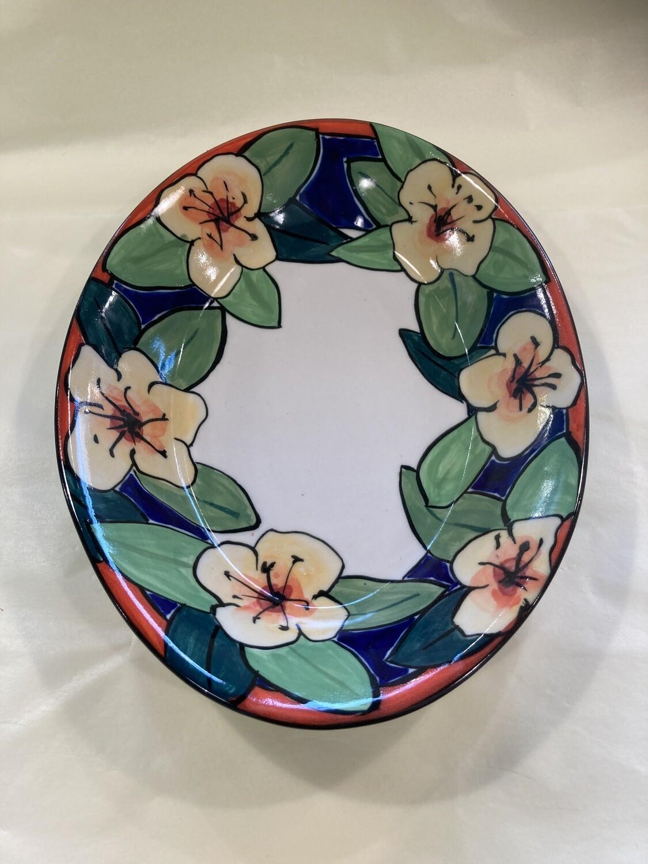 MARY LOU PITTARD - Oval Baking Dish 34cm(L)/24cm(W)/4cm(D)