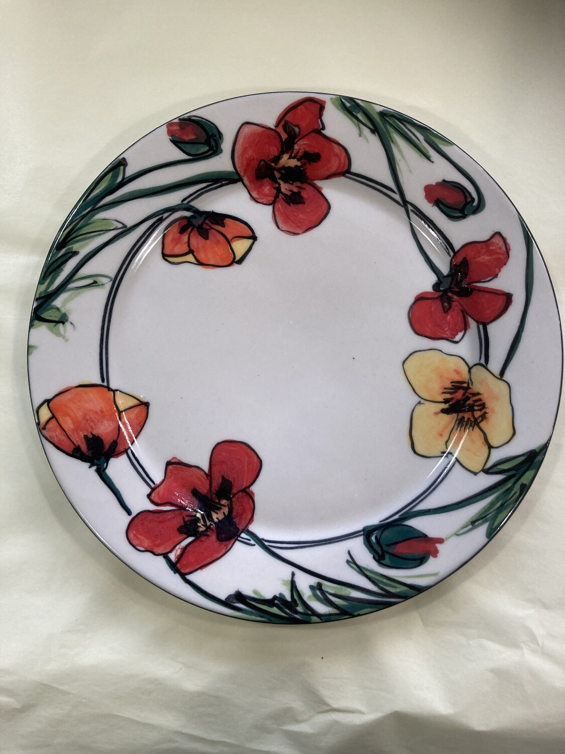 MARY LOU PITTARD - Lunch Plate 25cm(D)