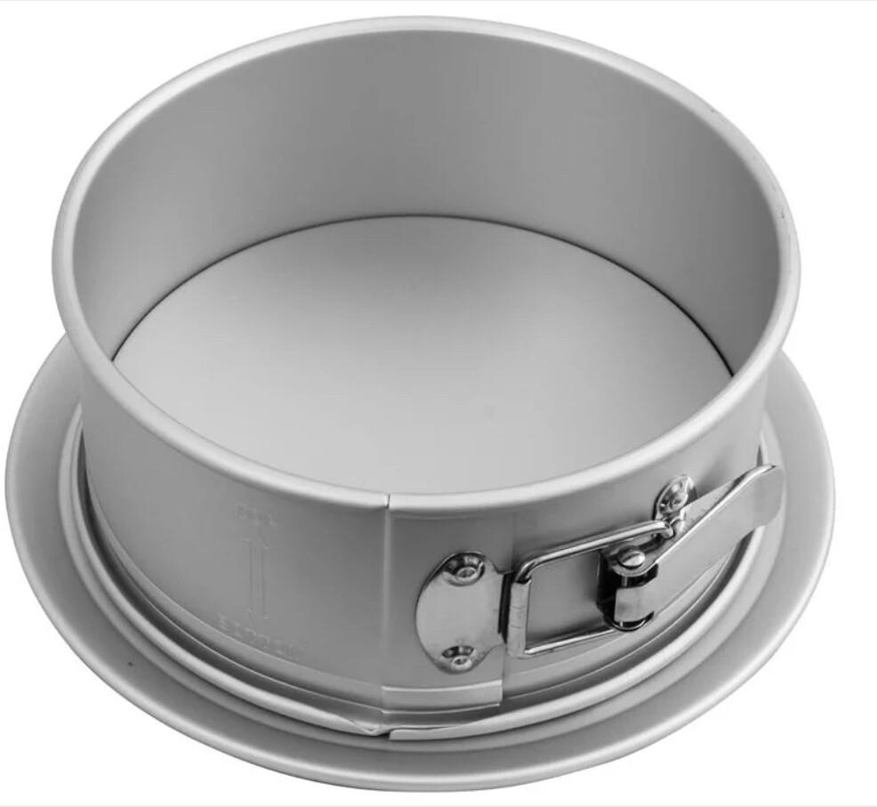 Bakemaster- 20cm Silver Anodised Springform Cake Pan