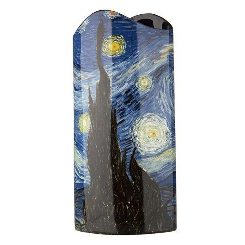 Silhouette d'art Vase - Van Gogh The Starry Night