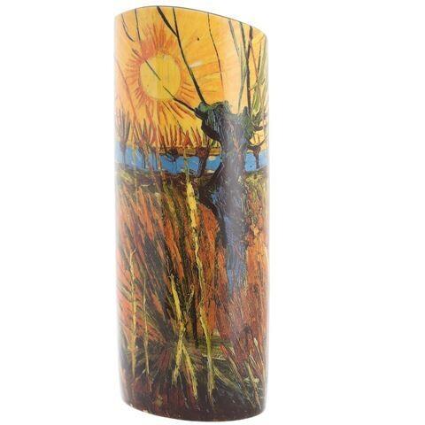 Silhouette d'art Vase - Van Gogh Pollard Willows