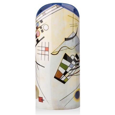 Silhouette d'art Vase - Kandinsky Composition VIII Vase