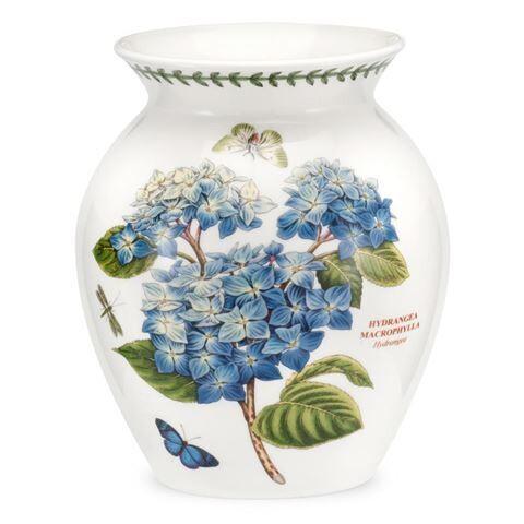 Portmeirion Botanic Garden 20cm/8 inch Vase - Hydrangea