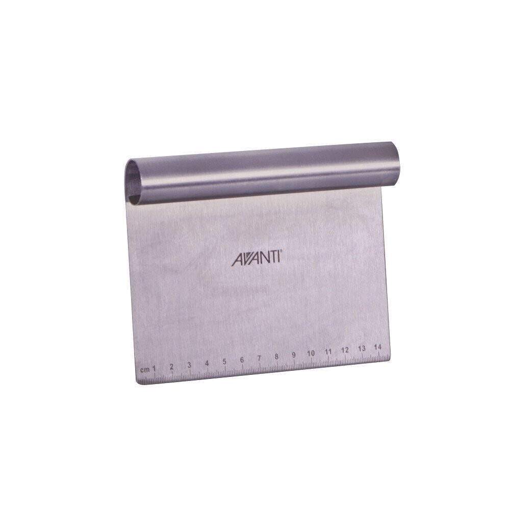 AVANTI Stainless Steel Dough Scraper