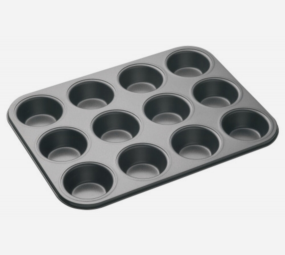 Bakemaster Classic 12 Cup Muffin Pan