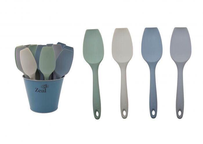 ZEAL Classic Silicone Spatula Spoon Assorted Colours