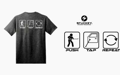 T-Shirt Push Tap Repeat