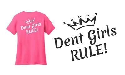 T-Shirt Dent Girls Rule