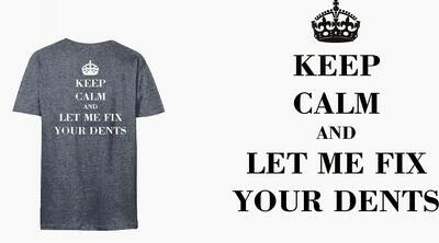 T-Shirt Keep Calm and Let me Fix your Dents Long Sleeve