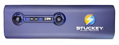 18 inch Hydro Dip Stuckey Cordless PDR LED Light Blue Carbon Fiber. Battery and Charger Included.