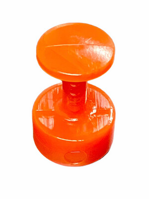 11mm Domed Hot Sauce Glue Tabs
